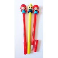 Ручка гелевая  Кукла.207