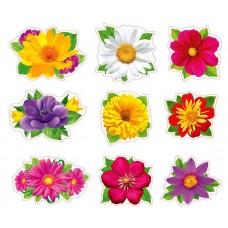 Комплект элементов для украшения.Волшебные цветы.125