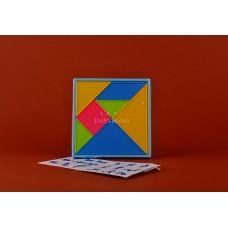 Головоломка - танграм+геометрический планшет  RC-730