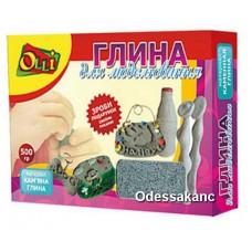 Глина для моделирования каменная Olli.