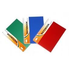 Блокнот A5 60 листов пластик пружина 1 разделитель.